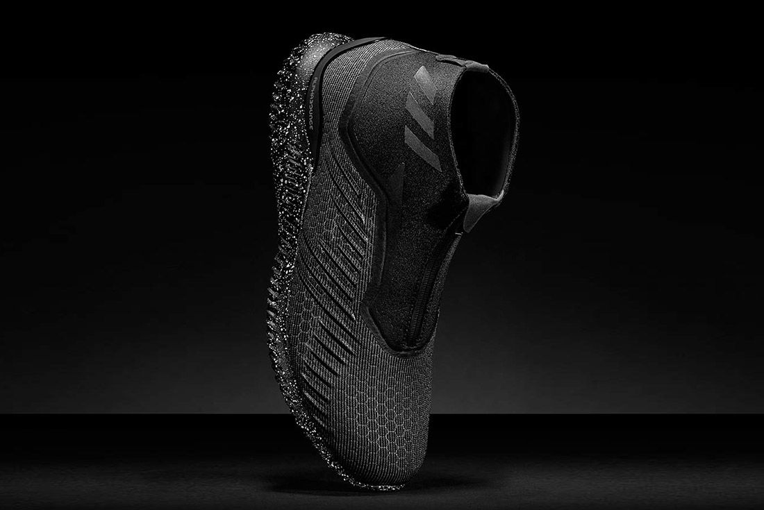 Adidas Alphabounce Mid Zip Black 1
