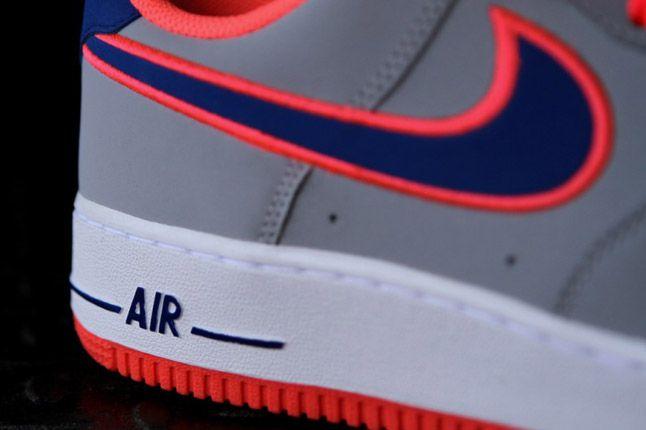 Nike Air Force 1 Wolf Grey Heel 1