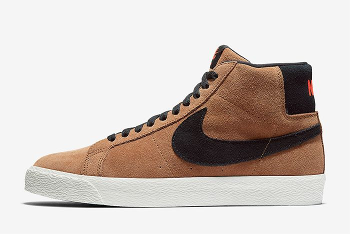 Nike Sb Blazer Mid Light British Tan Leftr