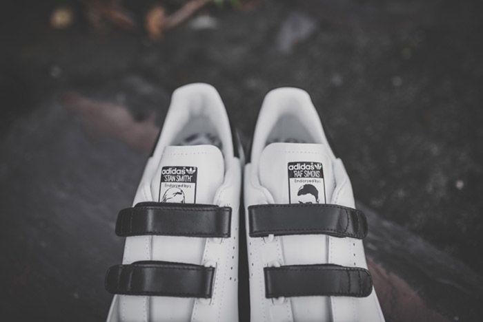 Raf Simons Adidas Stan Smith Comfort White Black 2