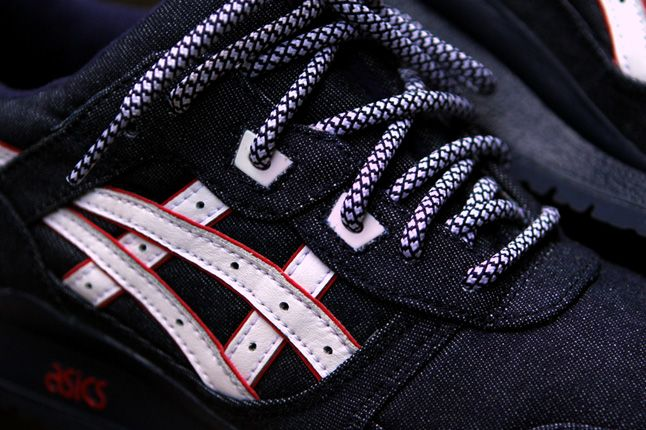 Ronnie Fieg Asics Gel Lyte Iii Selvedge Denim Side Detail 1