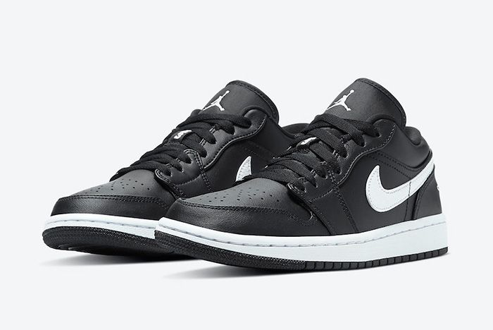 The Air Jordan 1 Low Goes Classic 'Black and White' - Sneaker Freaker