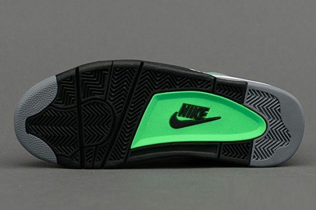 Nike Air Flight 89 Clgrey Poisongrn Sole 1