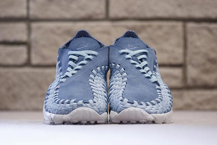 Nike Air Footscape Woven Smoky Blue 4