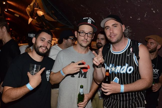 New Era Melbourne Launch Party Producers Series Suff Daddy Throwing Deuces 1