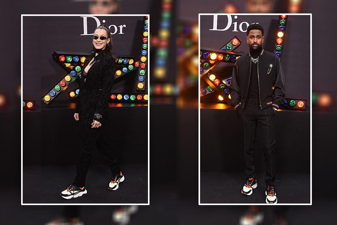 Dior Homme Trainer Rocky Celeb