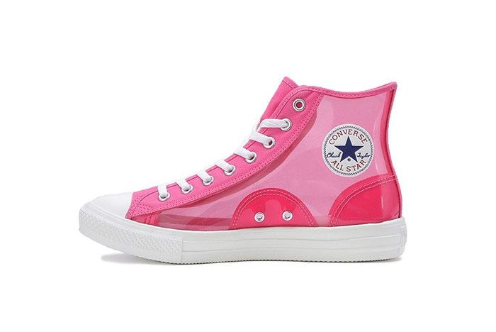 Converse Japan All Star High Clear Pink Medial