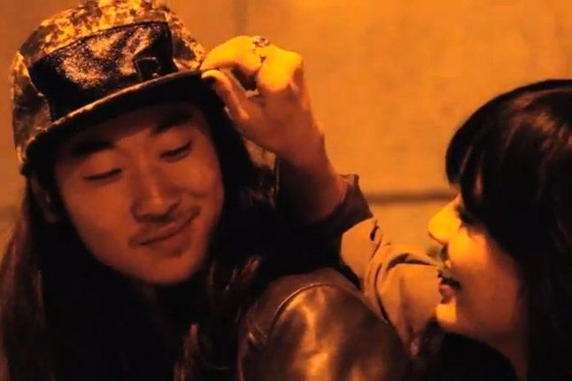 Reebok Classics Lookbook Teaser Dude In Snapback With Girl Touching The Brim 1
