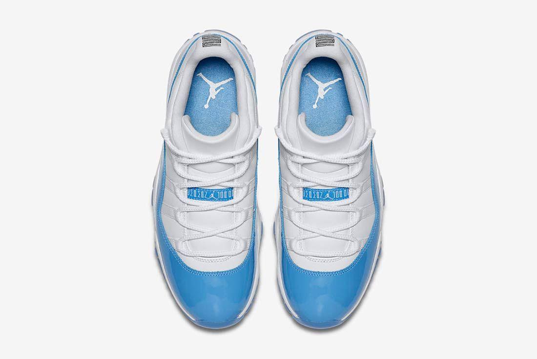 Air Jordan 11 Low University Blue 4
