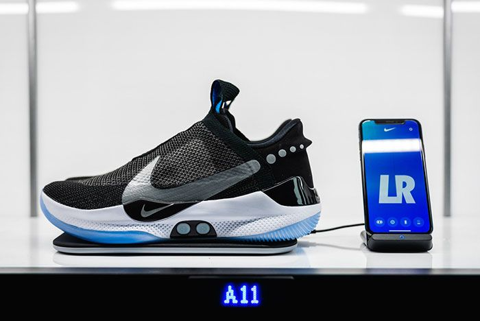 Nike Adapt Bb Side Shot With Phone