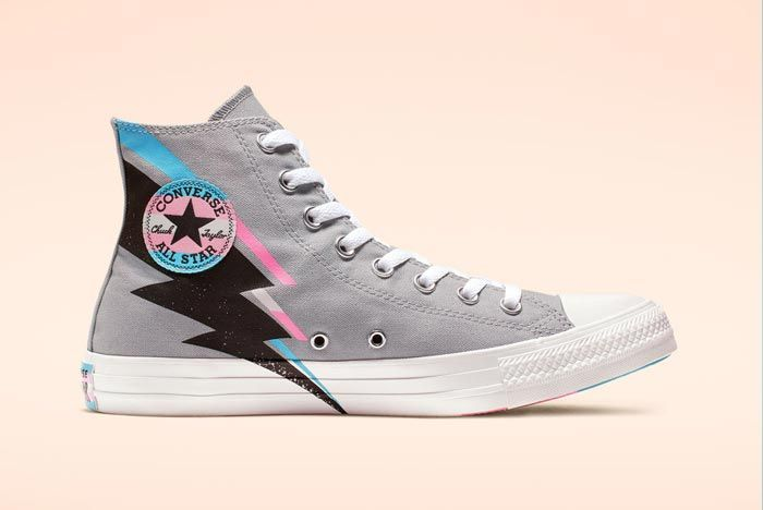 Chuck Taylor All Star Pride High Top Grey Medial