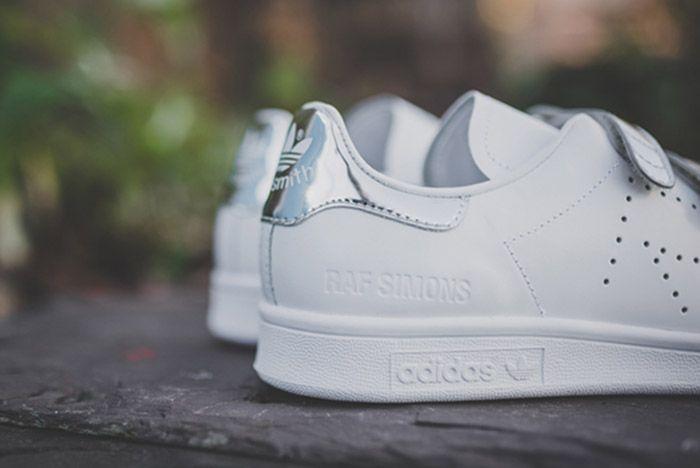 Raf Simons Adidas Stan Smith Comfort White Silver 2