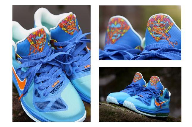 Nike Lebron 9 Custom By Kurtzastan 1
