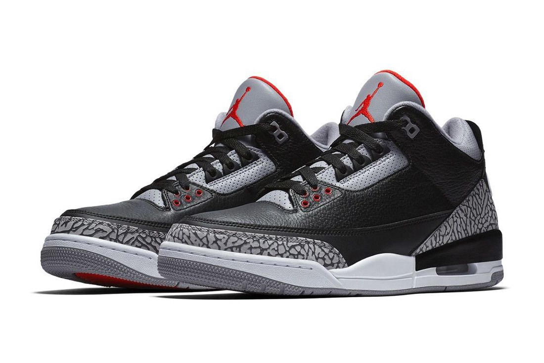 Nike Air Jordan 3 Black Cement Official Images Release Date Sneaker Freaker 1