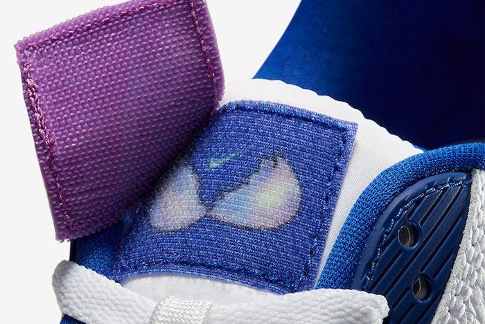 Nike Air Max 90 Easter Cj0623 100 Tongue Detail