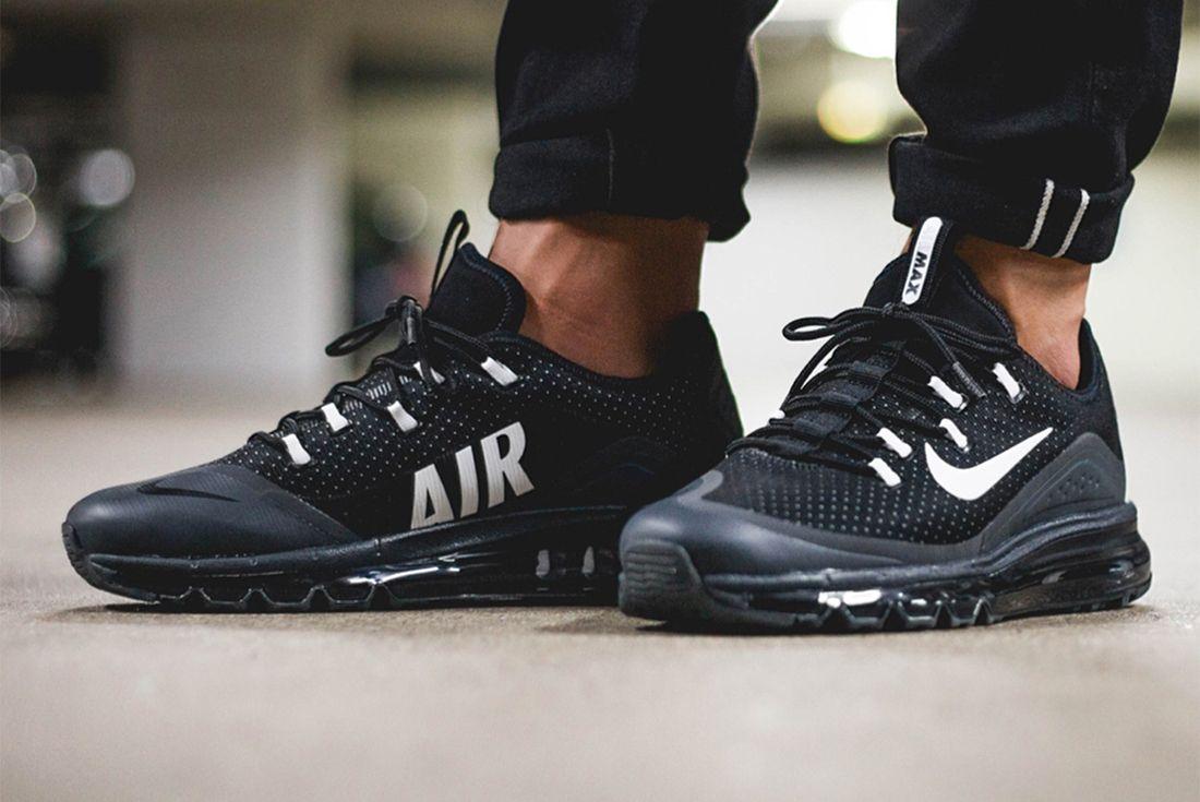 Nike Air Max More Black White3