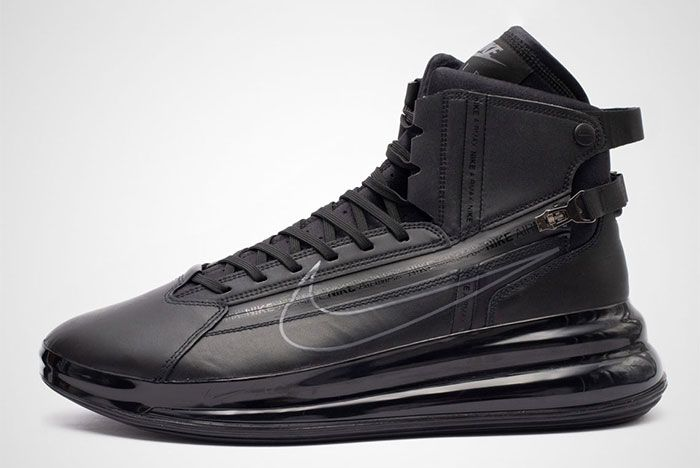 Nike Air Max 720 Saturn Black Side Shot 3