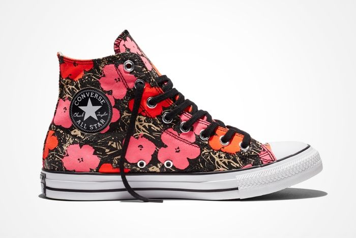 Converse Chuck Taylor All Star Andy Warhol Floral Pair6
