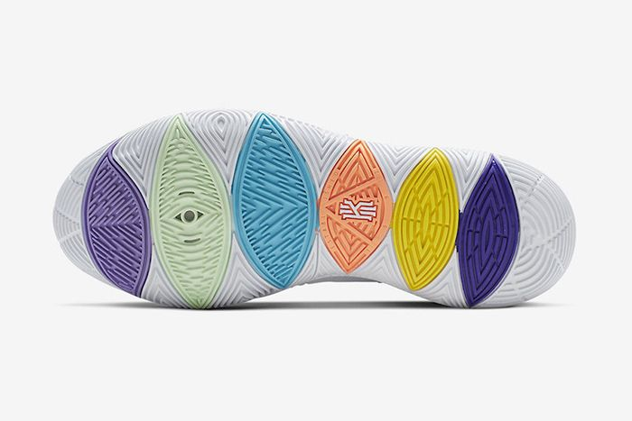 Nike Kyrie 5 Have A Nike Day Ao2919 101 Release Date Outsole