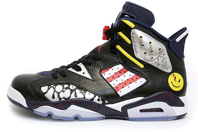 Air Jordan Watchmen Comedian 2 1
