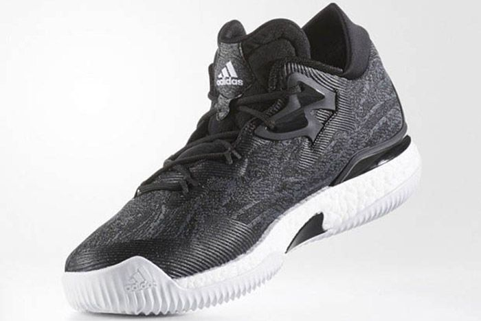 Adidas Crazylight Boost 2016 Black White 2