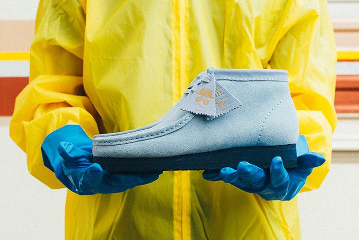 Bait X Breaking Bad X Clarks Wallabeesfeature
