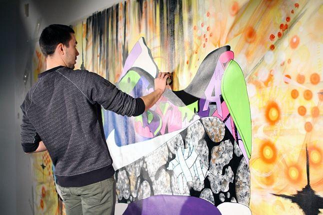 Sekured Nike Airmax 90 Time Lapse Mural Inprogress 1