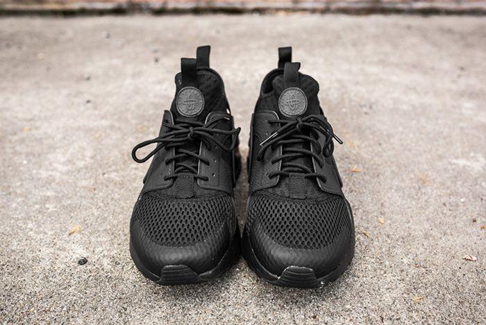 Nike Air Huarache Ultra Br Triple Black 6 2