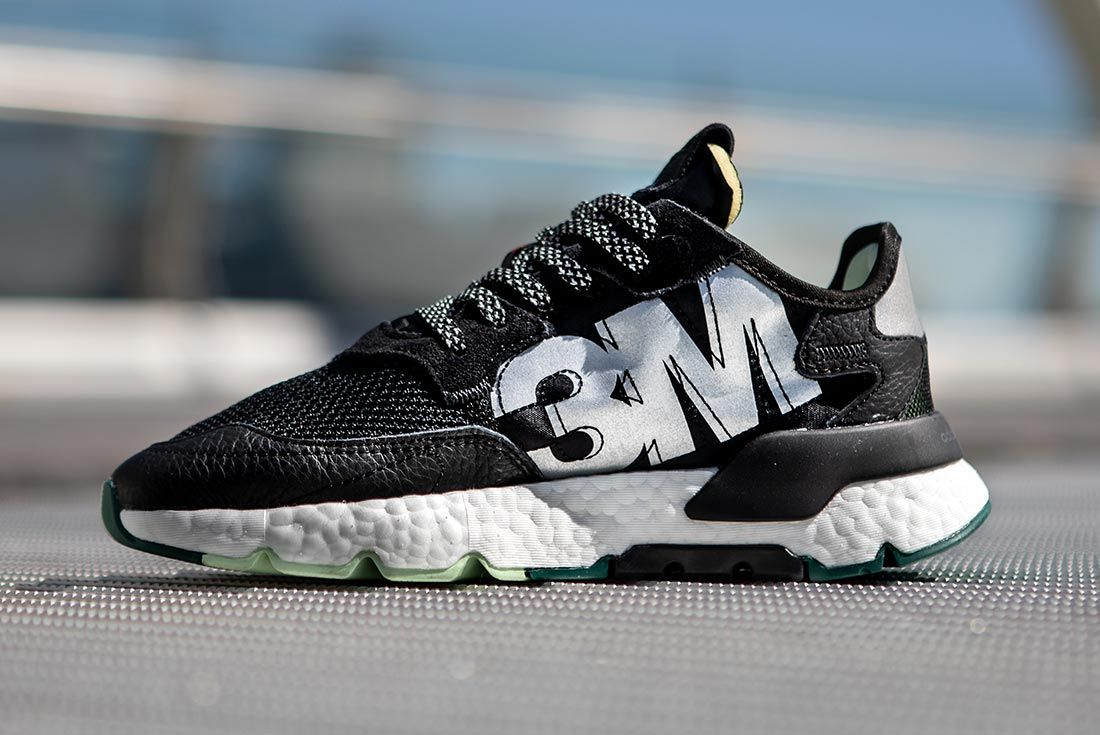 Nite Jogger Off Foot Black White