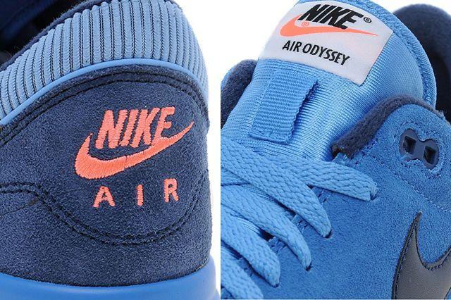 Nike Air Odyssey Blue Suede 1