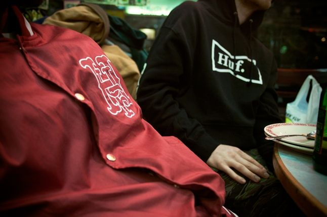 Huf Spring 13 D1 Lookbook Brian Kelley Huf Jacket 1