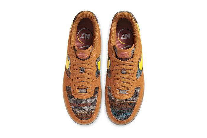 Pendleton Nike Air Force 1 Low N7 Cq7308 700 Release Date Top Down