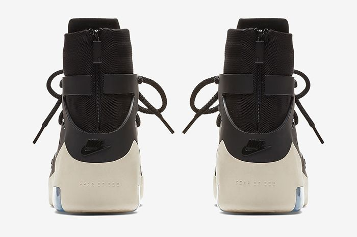 Nike Air Fear Of God 1 Black Official 4