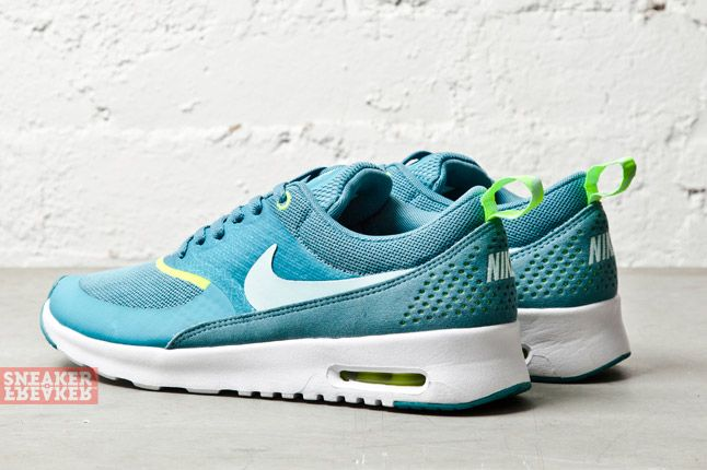 Nike Wmns Air Max Thea Mineral Teal Volt 1