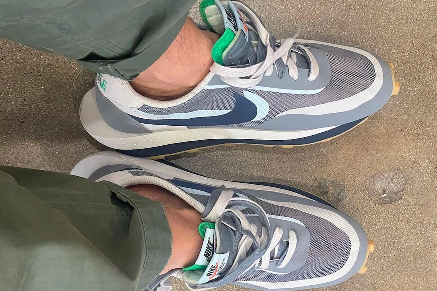 Edison Chen CLOT sacai Nike LDWaffle