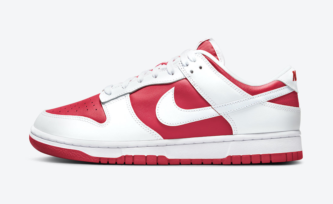 Nike Dunk Low Championship Red DD1391-600