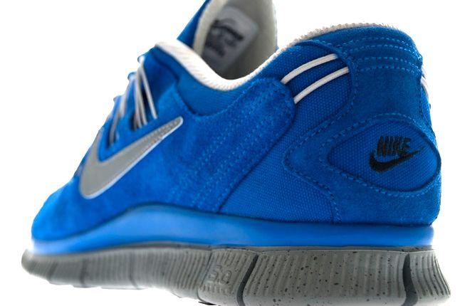 Nike Free 5 Ext Hyper Blue Heel 1