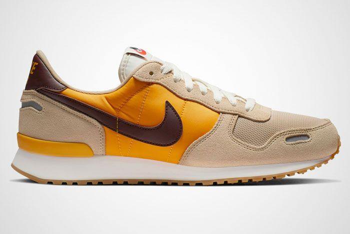Nike Air Vortex Brown Yellow Right