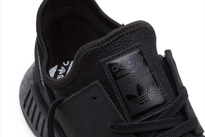 Adidas Neighborhood Nmd Triple Black 4