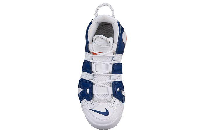 Nike Air More Uptempo White Blue Knicks 1