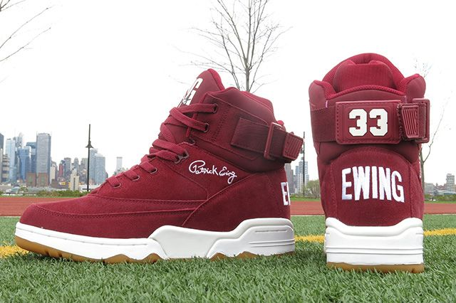 Ewing Athletics 33 Hi Burgundy 9