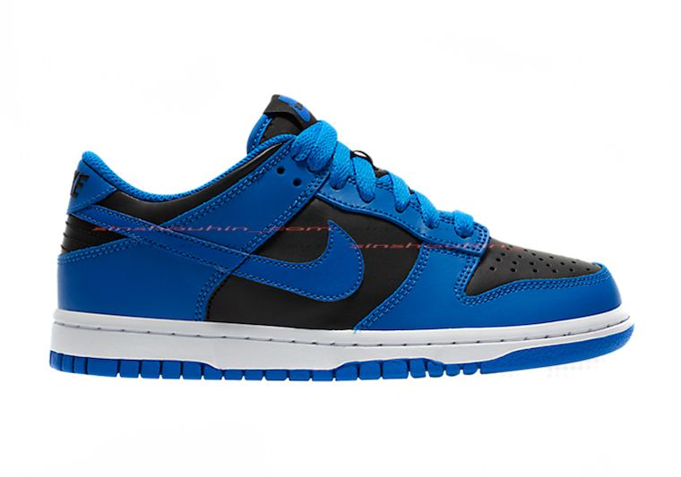 Nike Dunk Low GS Blue Black Right