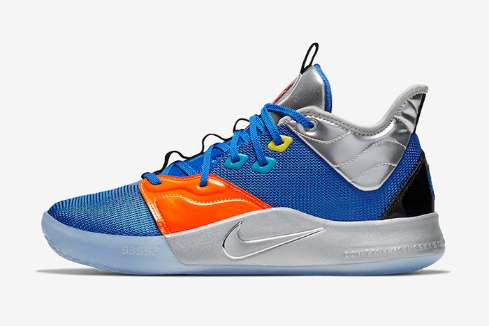 Nike Pg 3 Nasa Blue Left