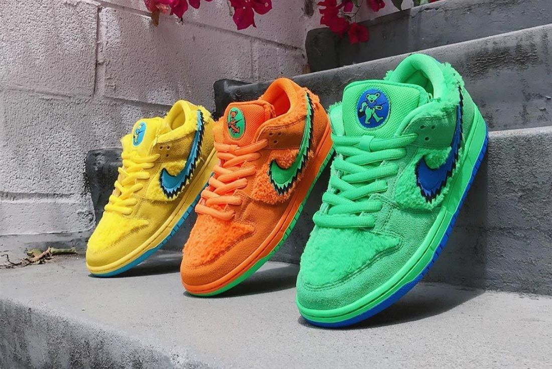 Release Dates: The Grateful Dead x Nike SB Dunks - Sneaker ...