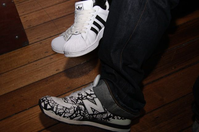 New Balance Adidas 1
