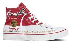 Converse Chuck Taylor All Star Andy Warhol  Campbells Red Detail Thumb