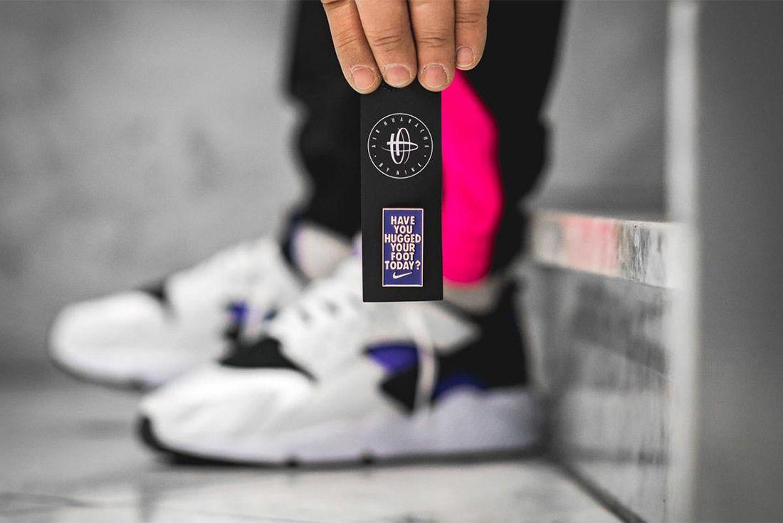 Nike Air Huarache Run 91 Qs 2018 Purple Punch 6