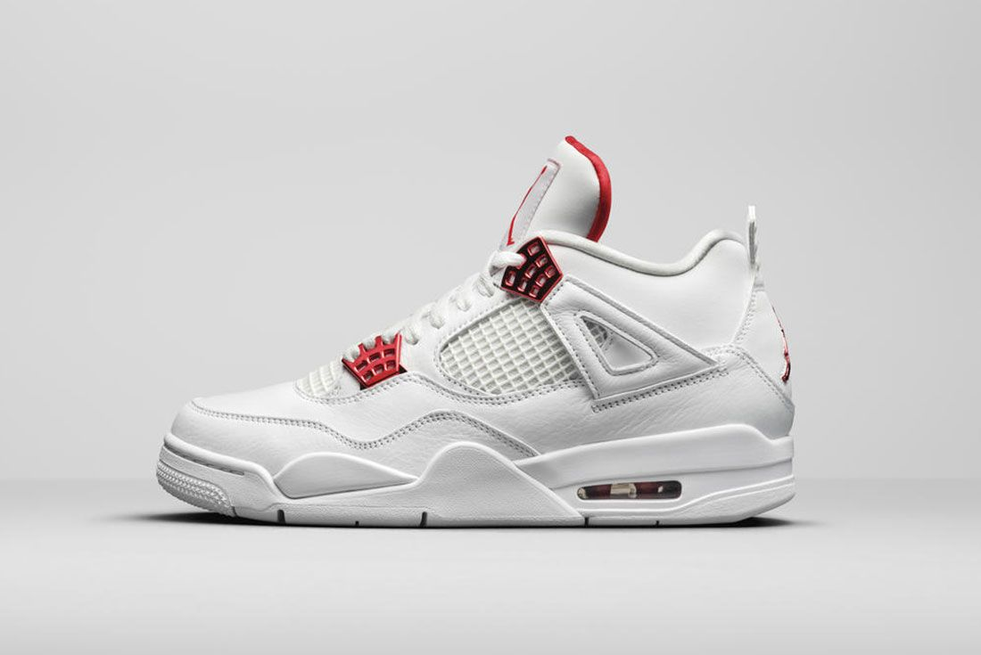Jordan Brand Summer 2020 Air Jordan 4 Metallic Pack Red Lateral