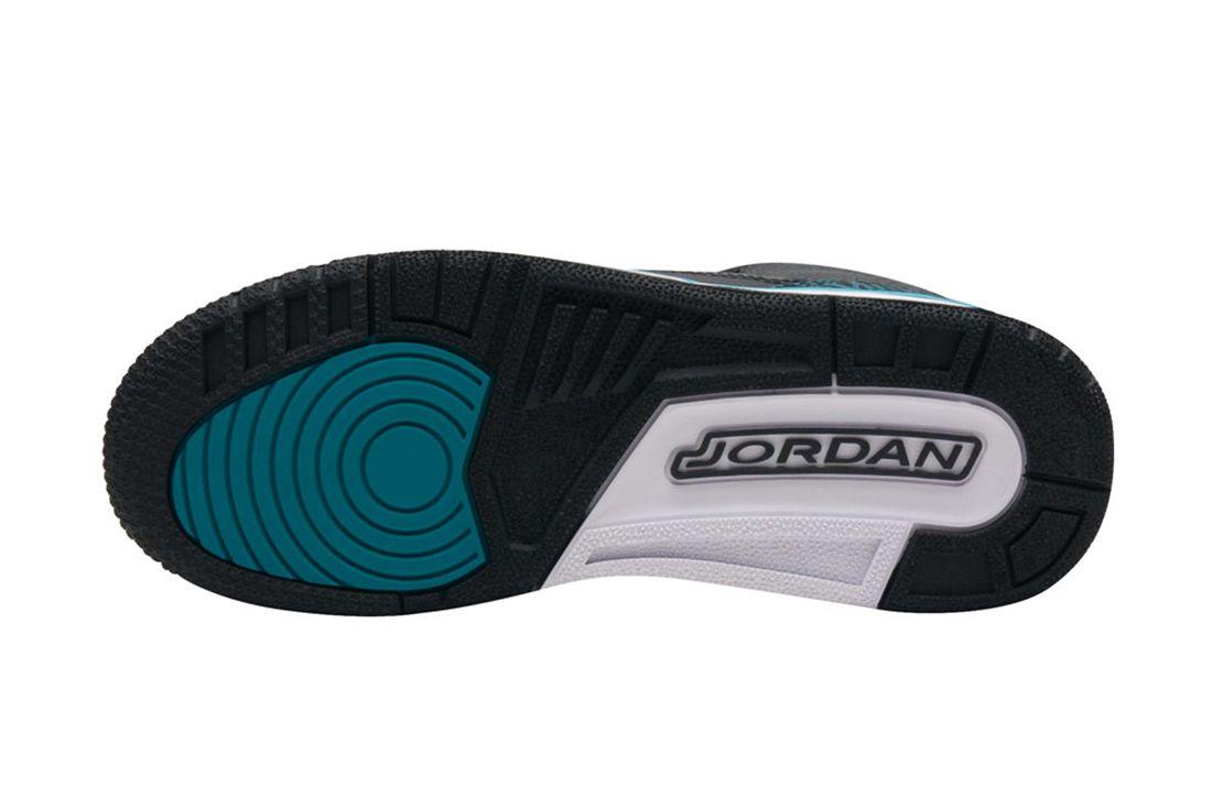 Air Jordan 3 Gs Rio Teal4
