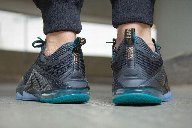 Nike Le Bron Xii Metallic Gold 1